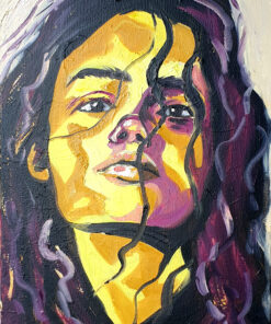 Ana original oil painting Lillian Gray