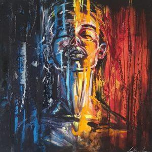 Karabo Lillian Gray Oil Painting