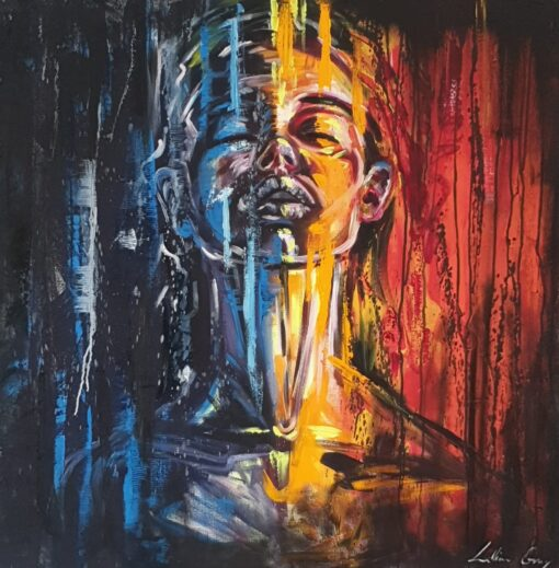 Karabo Lillian Gray Oil Painting