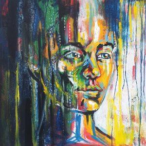 Kaya lillian gray original oil painting